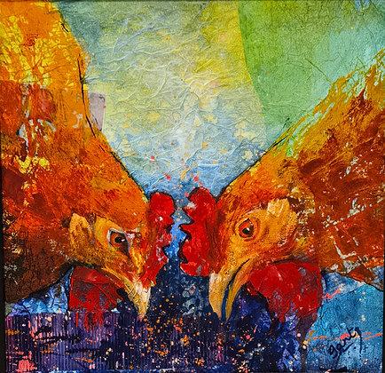 """""""Hen Pecked"""" - Jantien Powell"""