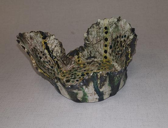Anenome Blue Coral Bottle Holder - The Coral Range - Lesley Badger