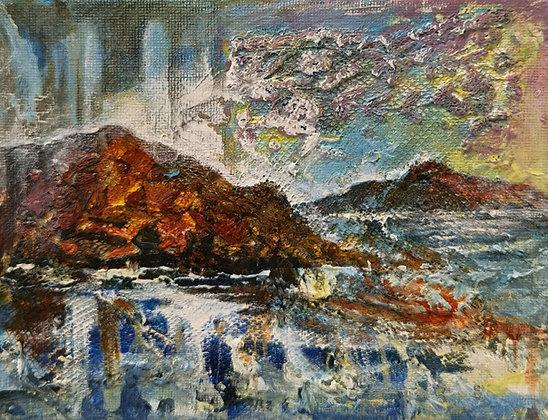 Melting Cliffs Abermawr - Victoria Reynolds Miniatures