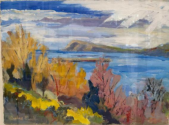 """Dinas Head - Pembrokeshire"""" by Caroline MacLachlan"""