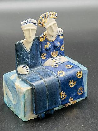 """Ceramic Sculpture """"Together II - Val James"""