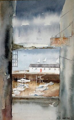 """""""Down to the Harbour - Tenby"""" Gary Griffiths"""