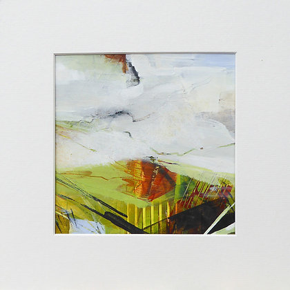 """Linear landscape 5"" by Bron Jones - Freedom Found Exhibition"