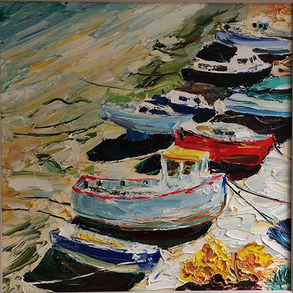 Boats of Conwy