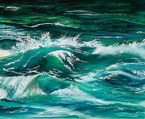 """""""Gentle's Waves"""" - Jill Jones"""
