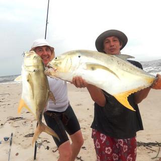 Nice pair of Kingfish.