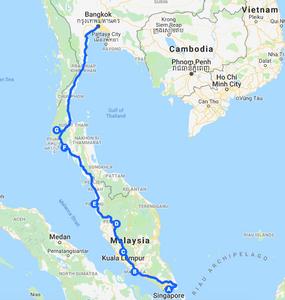 2 Weeks Backpacking SINGAPORE to BANGKOK | Itinerary - My