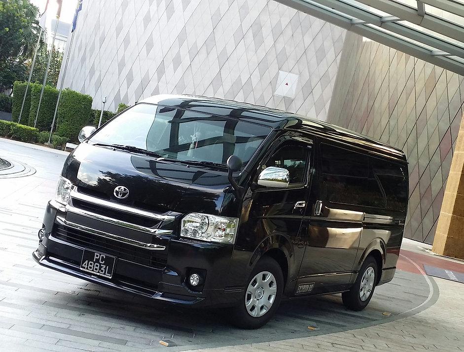 minivan charter singapore