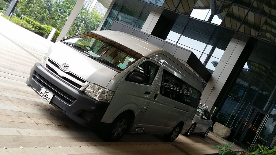 Minibus charter singapore