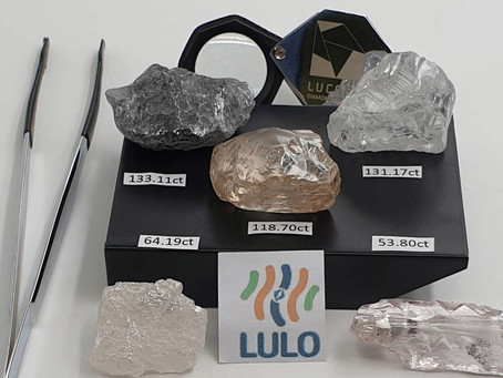 Three +100 carat diamonds recovered!
