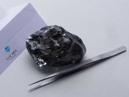 LUCARA RECOVERS RECORD 1,758 CARAT DIAMOND FROM KAROWE