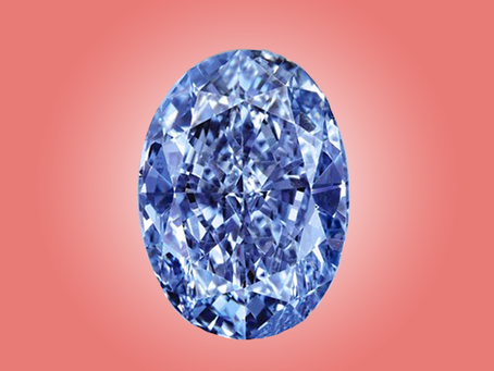 Rare Fancy Vivid Blue Diamond on Auction!