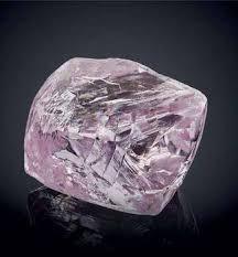 Marvelous 6.21-carat fancy intense pink-purple diamond from Alrosa.