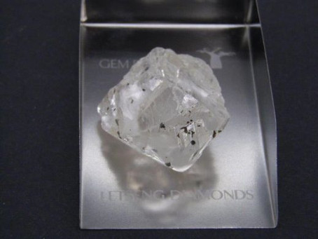 A 202 Carat rough diamond found!!!