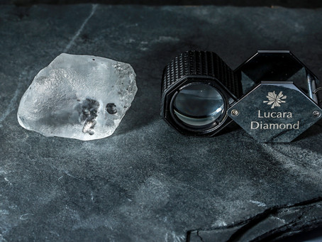 Lucara starts 2021 with a 341-carat white diamond discovery