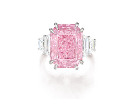 A 10.64 carat Fancy Vivid Purplish Pink Diamond is making October 2019 Special.