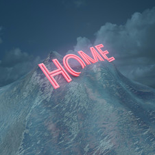 Home has drifted into blue