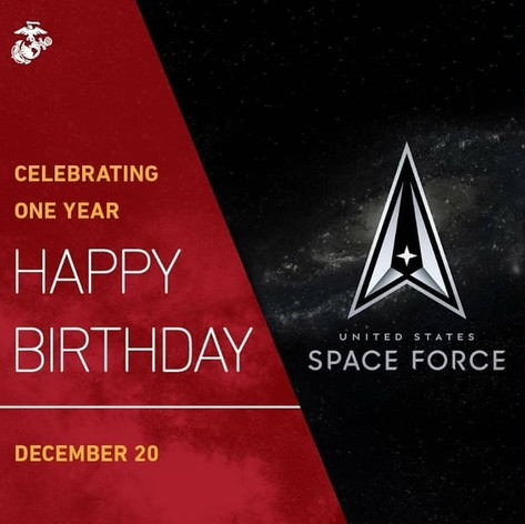 HAPPY BIRTHDAY US SPACE FORCE