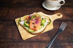 Smoke Salmon Avocado Toast
