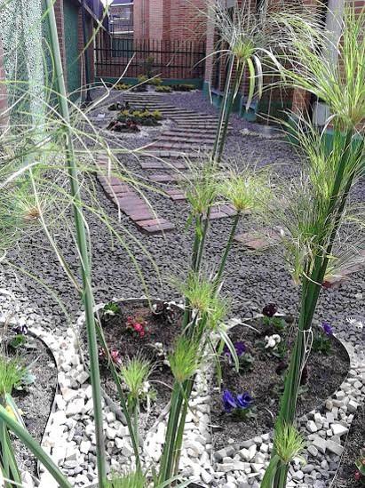 Jardinera sistema bicapa