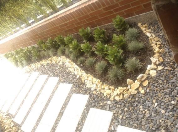 Jardineras, sistema bicapa