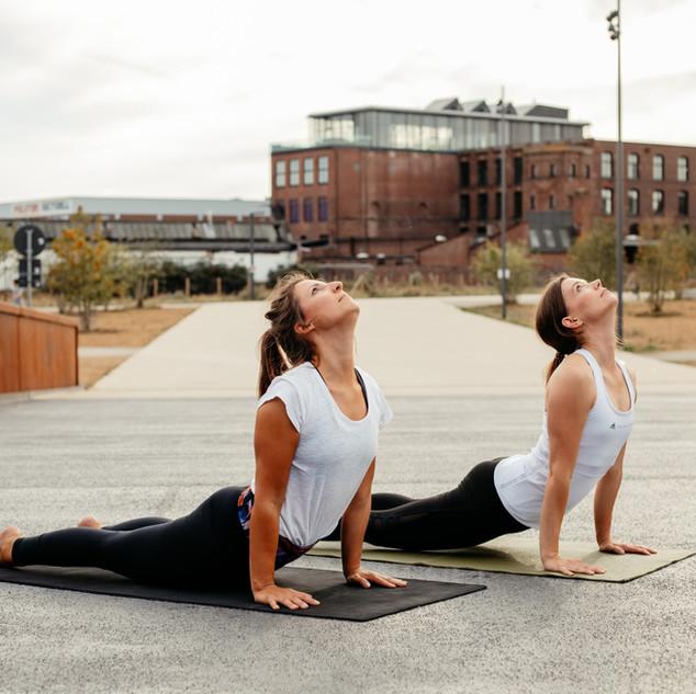 Urdhva Mukha Shavanasana Yoga Bocholt Pose