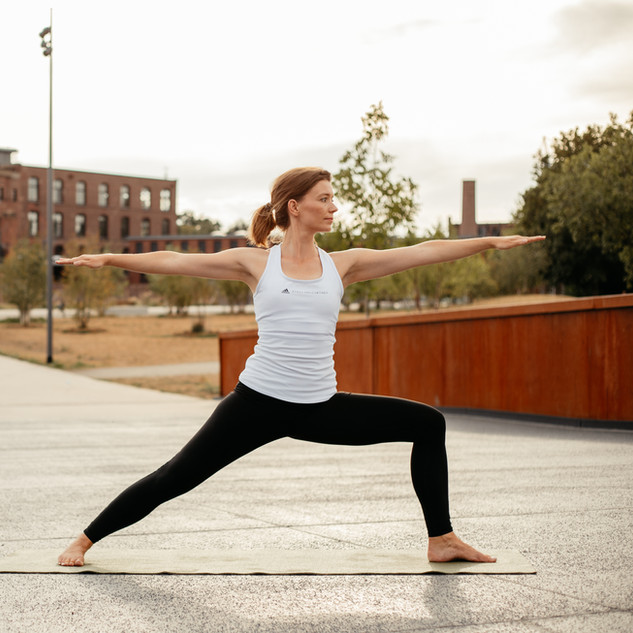 Virabhradasana Yoga Bocholt Pose