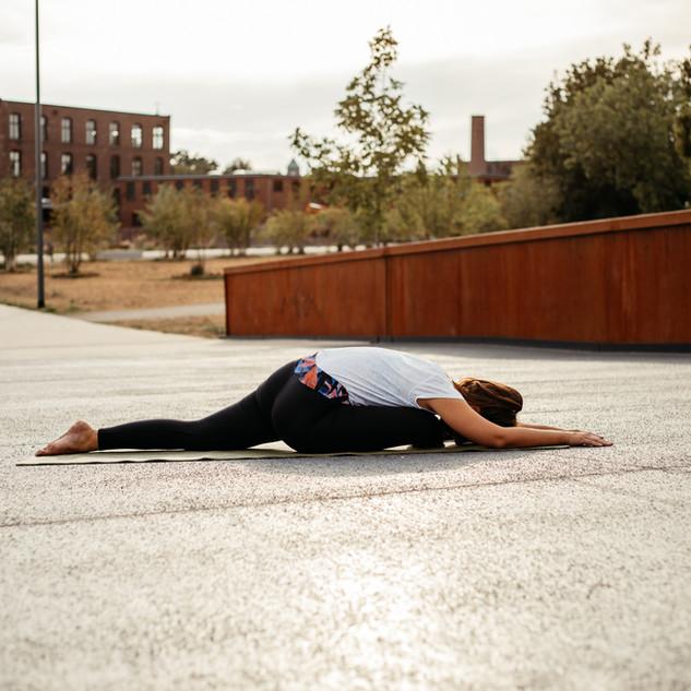 Dehnung Yoga Bocholt Pose