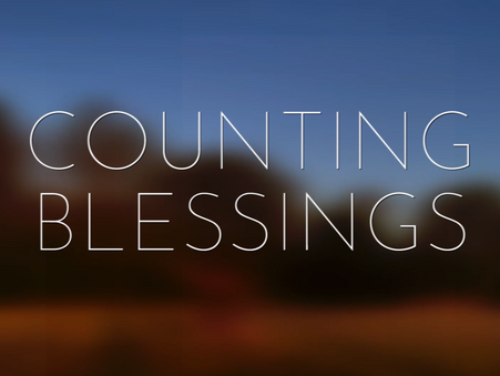 Creating Counting Blessings