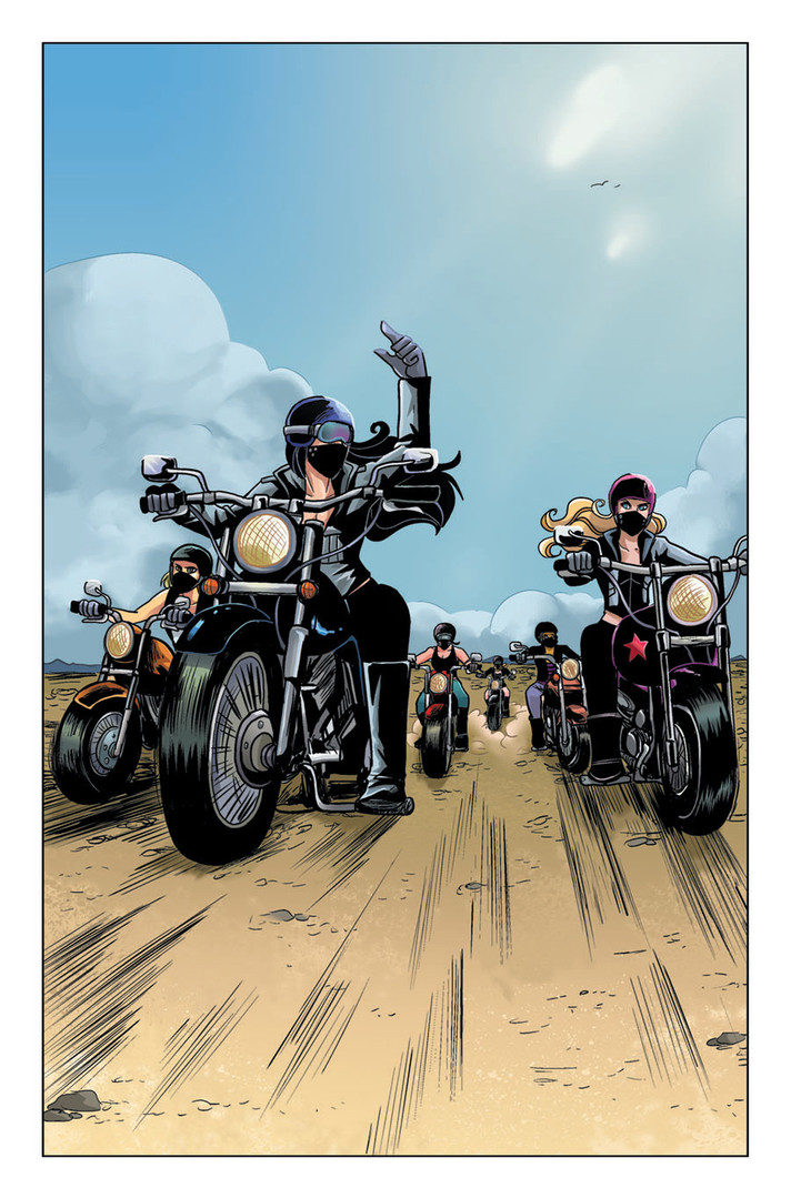 """""""Betty and Veronica: Vixens"""" Issue #1 Page 1"""
