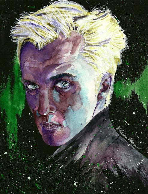 Draco Malfoy (Tom Felton)