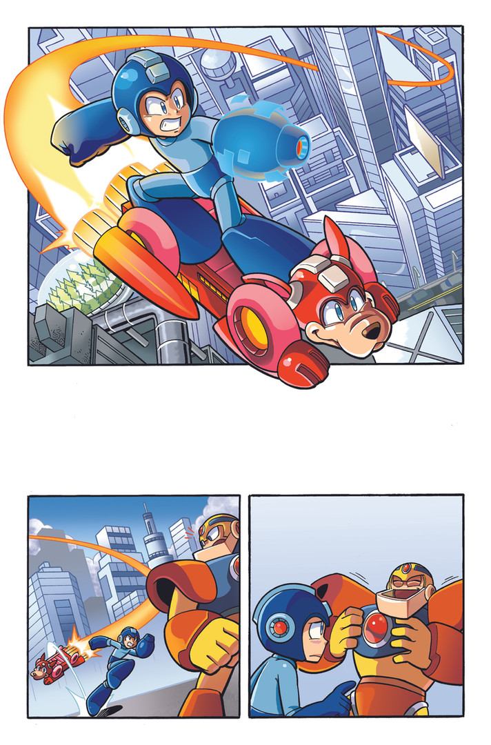 """Mega Man"" Issue #53 Page 1"