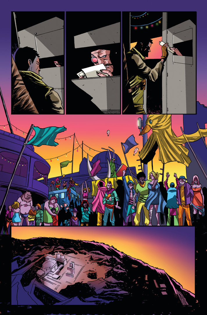 """The Six Swords"" Issue #1 Page 1"