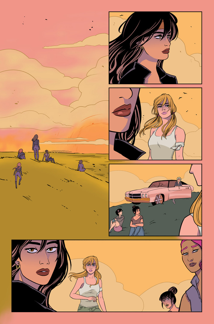 """Betty and Veronica: Vixens"" Issue #10 Page 3"