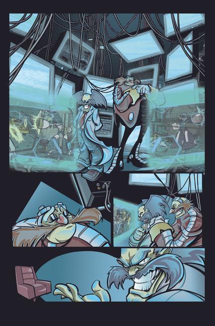 """""""Mega Man Worlds Unite: Battle"""" Part 3 Page 1"""