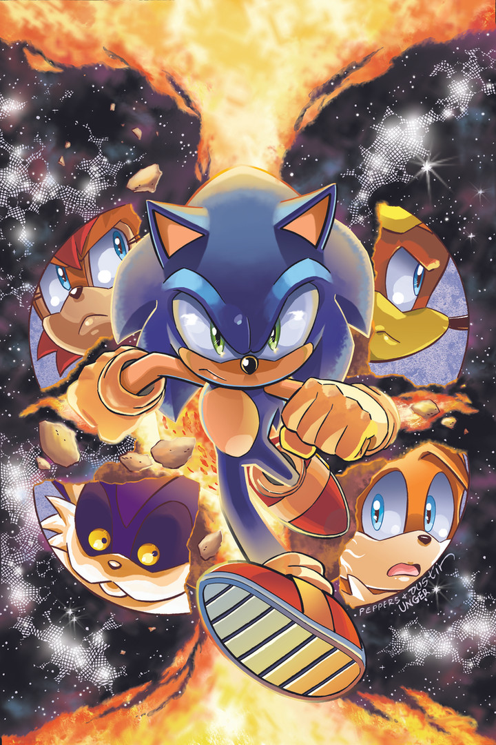 "Archie's ""Sonic the Hedgehog"" Cover Issue #278"