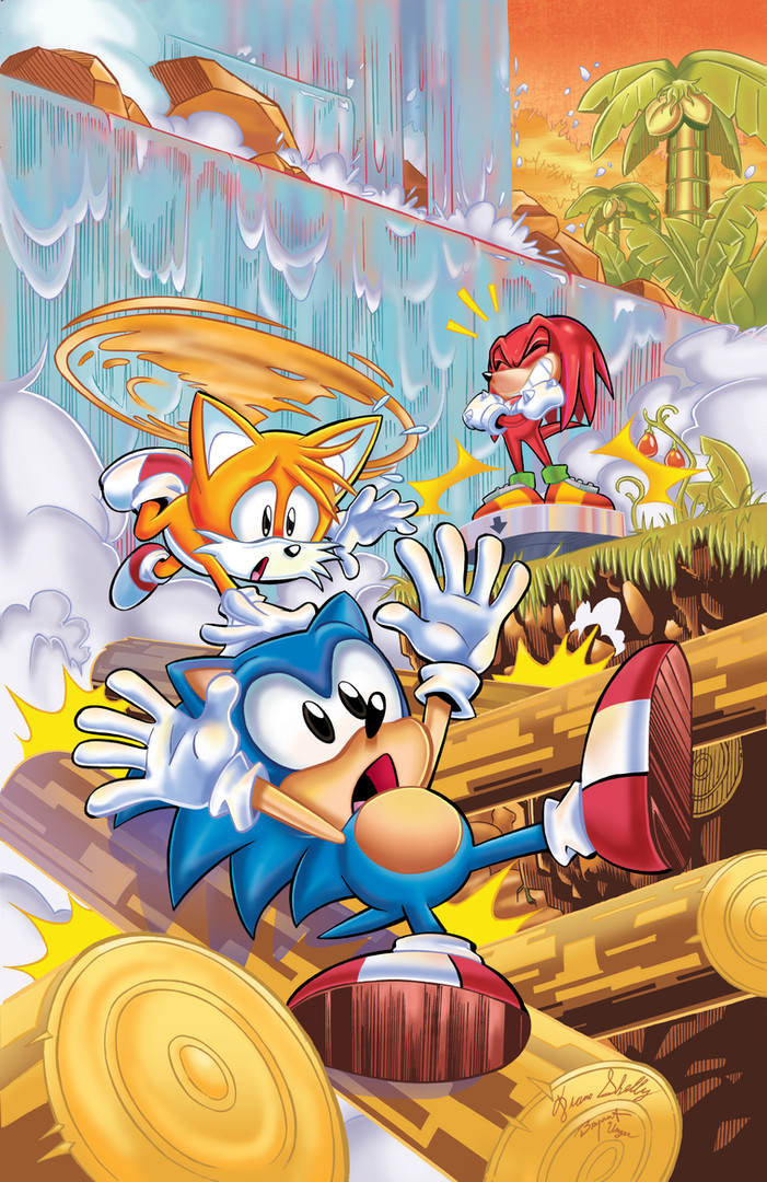 """Archie's """"Sonic Universe"""" Variant Cover Issue #88"""