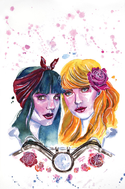 """""""Betty and Veronica: Vixens"""" Variant Cover Issue #5"""