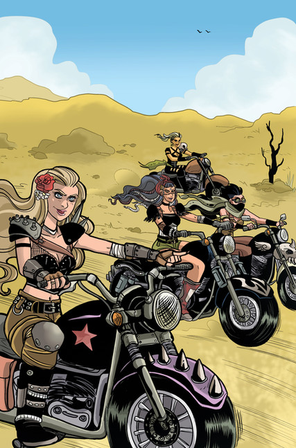 """""""Betty and Veronica: Vixens"""" Issue #3 Page 1"""