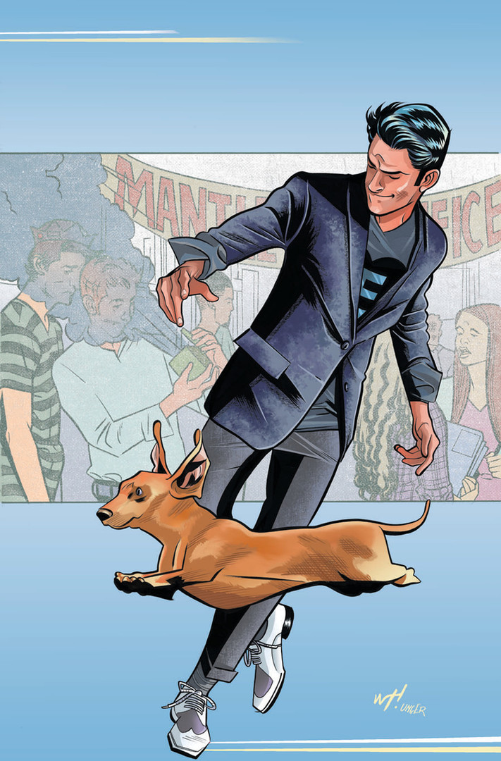 """""""Reggie and Me"""" Variant Cover Issue #1"""