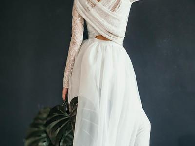 Bridal wear that isn't a dress