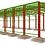 Thumbnail: Cálculo + Projeto - Galpão - Coluna e Cobertura Treliçada
