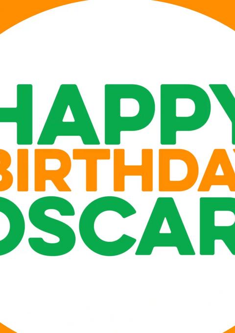 Sesame Street Live! Happy Birthday Oscar
