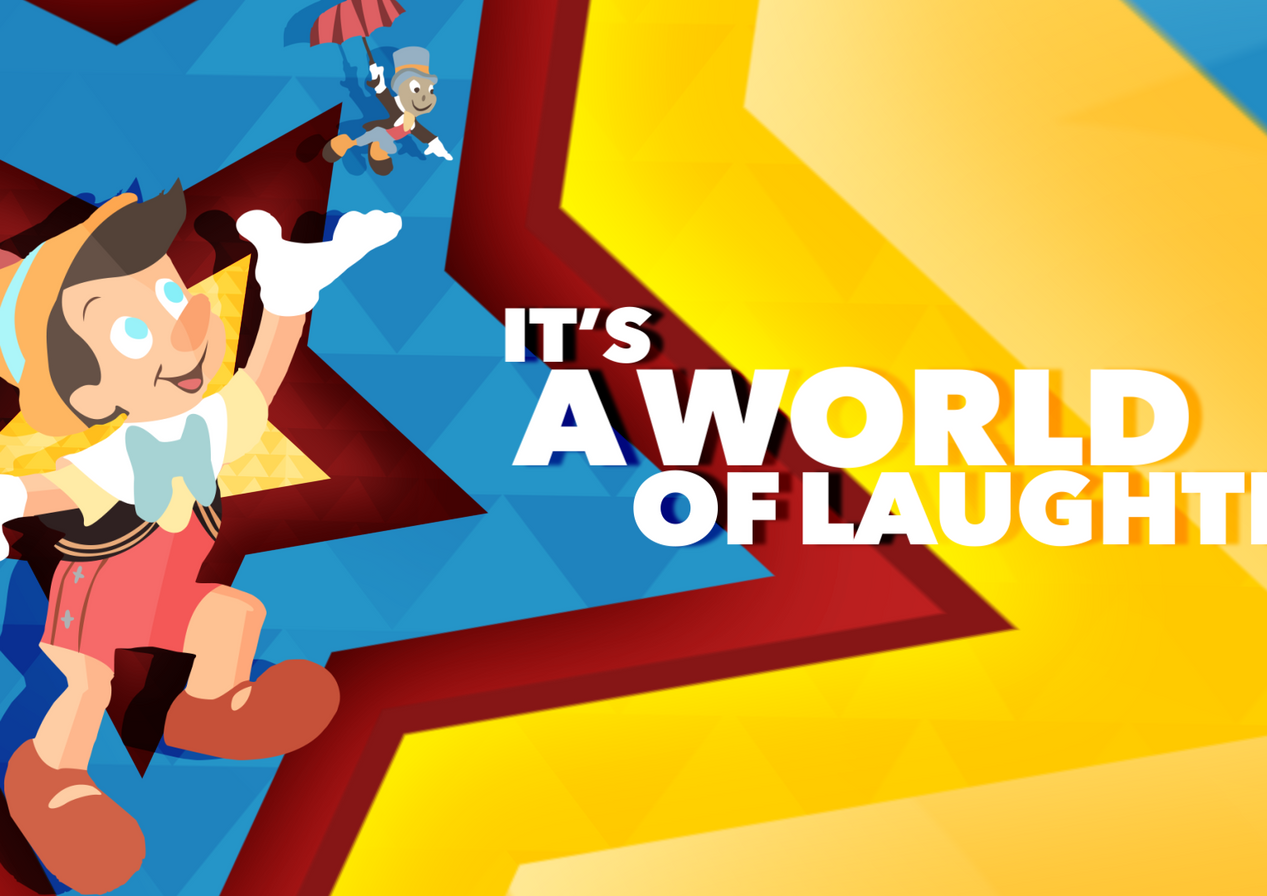 Its A Small World Part Comp Rendered Wit