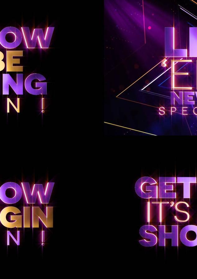 Light Em Up New Years Spectacular - Show