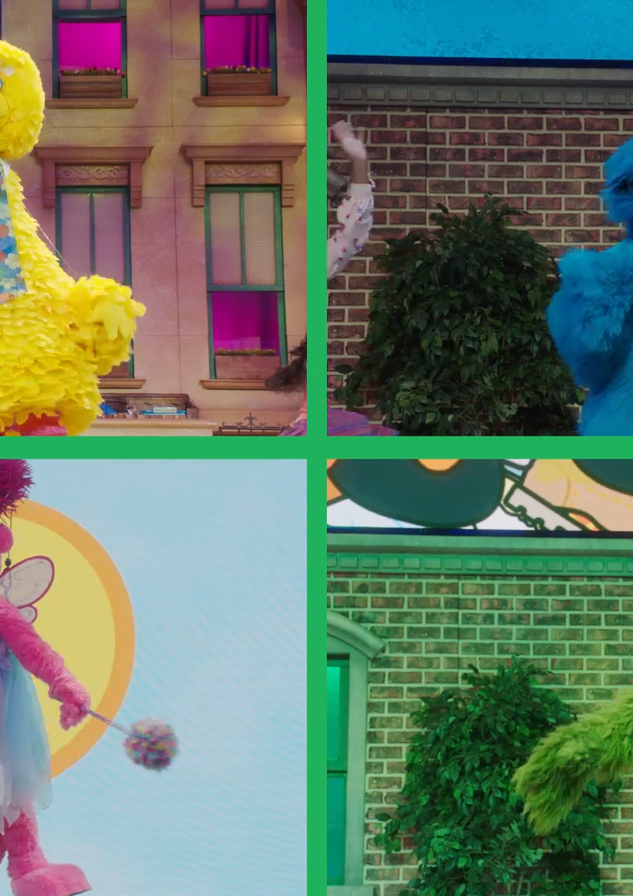 Sesame Street Live! Facebook - Video Sli