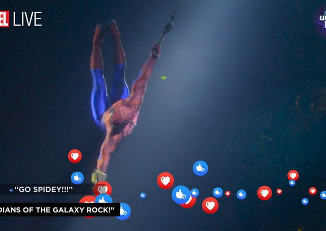 Facebook Promo - Marvel Universe Live! (