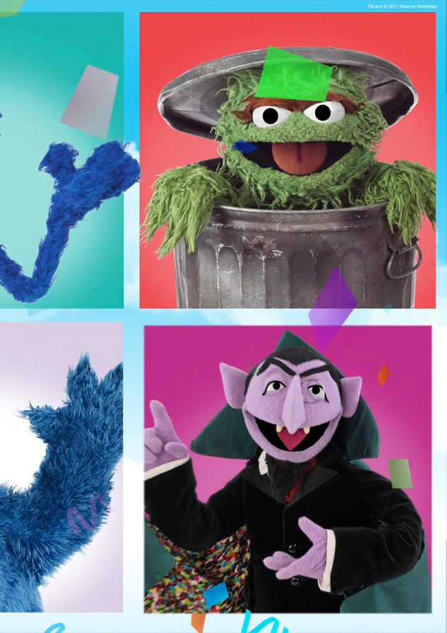 Sesame Street Live! Character Collage (0