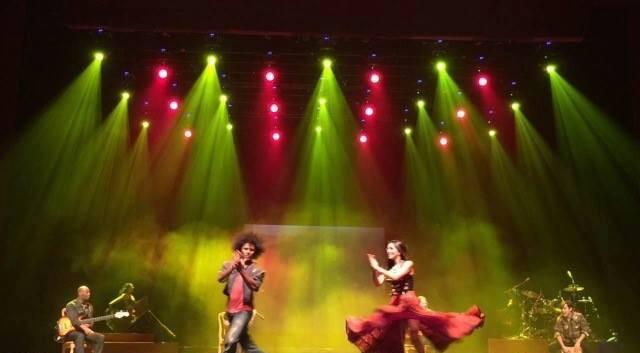 Flamenco stage performance