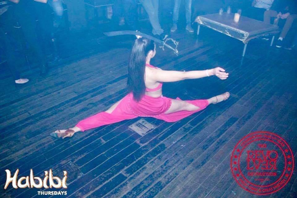 Sword balancing act